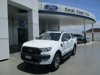 2018 Ford Ranger PX MkII MY18 Wildtrak 3.2 (4x4) (5 Yr) White 6 Speed Automatic Dual Cab Pick-up.