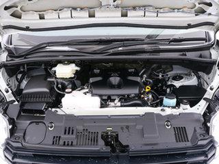 2020 Toyota HiAce GDH300R LWB (5 Seats) White 6 Speed Auto Sequential Crew Van