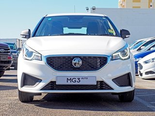 2020 MG MG3 SZP1 MY21 Core White 4 Speed Automatic Hatchback.