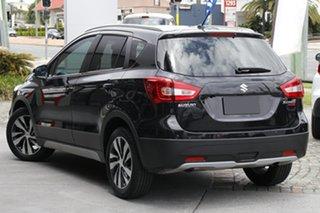 2020 Suzuki S-Cross JY Turbo Prestige Cosmic Black 6 Speed Sports Automatic Hatchback.