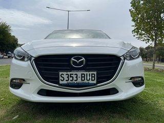 2017 Mazda 3 BN5436 SP25 SKYACTIV-MT White 6 Speed Manual Hatchback.