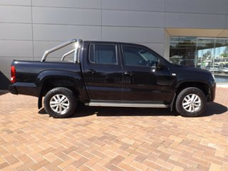 2015 Volkswagen Amarok 2H MY15 TDI420 4MOTION Perm Core Black 8 Speed Automatic Utility.
