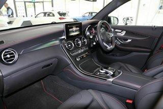 2017 Mercedes-Benz GLC-Class X253 808MY GLC43 AMG 9G-Tronic 4MATIC Silver 9 Speed Sports Automatic