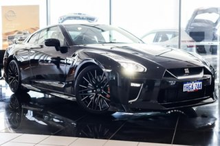 2020 Nissan GT-R R35 MY20 Premium DCT AWD Jet Black 6 Speed Sports Automatic Dual Clutch Coupe.
