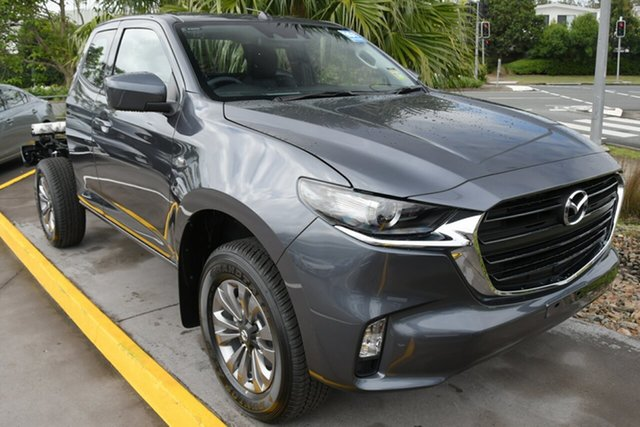 New Mazda BT-50 TFS40J XT Freestyle North Rockhampton, 2021 Mazda BT-50 TFS40J XT Freestyle Ingot Silver 6 Speed Sports Automatic Cab Chassis