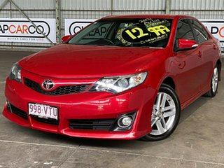 2013 Toyota Camry ASV50R Atara SX Red 6 Speed Sports Automatic Sedan.
