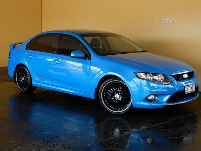 Used Ford Falcon FG Upgrade XR6 Toowoomba, 2010 Ford Falcon FG Upgrade XR6 Blue 6 Speed Auto Seq Sportshift Sedan