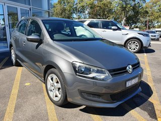 2010 Volkswagen Polo 6R 77TSI DSG Comfortline Grey 7 Speed Sports Automatic Dual Clutch Hatchback.