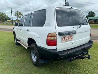 2003 Toyota Landcruiser HZJ105R Standard White 5 Speed Manual Wagon