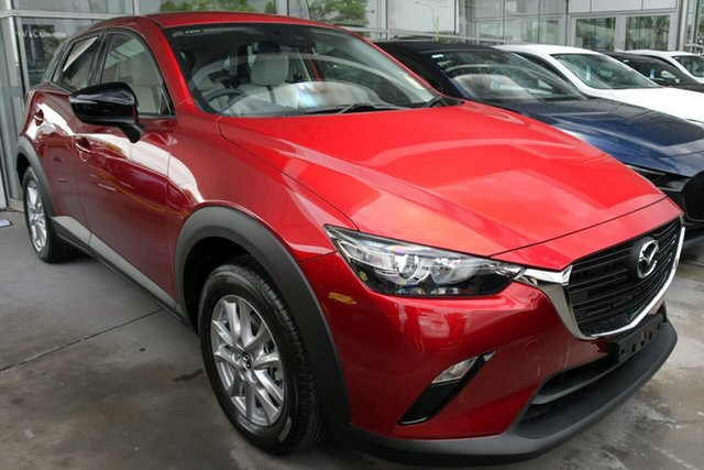 New Mazda CX-3 DK2W7A Hillcrest, 2020 Mazda CX-3 DK2W7A Soul Red Crystal 6 Speed Sports Automatic Wagon