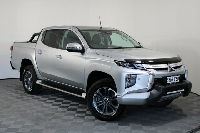 Used Mitsubishi Triton MR MY20 GLS Double Cab Premium Wayville, 2019 Mitsubishi Triton MR MY20 GLS Double Cab Premium Sterling Silver 6 Speed Sports Automatic