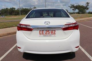 2016 Toyota Corolla ZRE172R Ascent S-CVT Glacier White 7 Speed Automatic Sedan