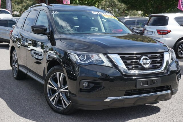 Used Nissan Pathfinder R52 Series III MY19 Ti X-tronic 4WD Phillip, 2019 Nissan Pathfinder R52 Series III MY19 Ti X-tronic 4WD Black 1 Speed Constant Variable Wagon