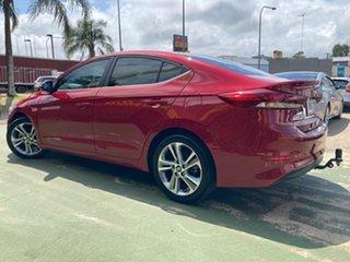 2017 Hyundai Elantra AD MY17 Elite A Shiraz Red 6 Speed Sports Automatic Sedan