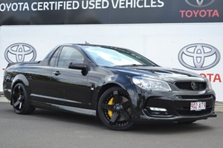 2015 Holden Ute VF II SS-V Black 6 Speed Manual Utility.