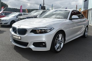 2014 BMW 2 Series F22 220d M Sport White 8 Speed Sports Automatic Coupe