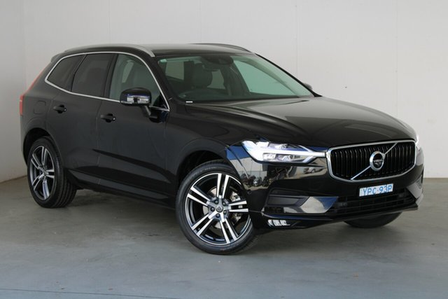 Used Volvo XC60 UZ MY18 D4 AWD Momentum Phillip, 2018 Volvo XC60 UZ MY18 D4 AWD Momentum Onyx Black 8 Speed Sports Automatic Wagon