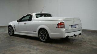 2013 Holden Ute VF MY14 SS V Ute Heron White 6 Speed Sports Automatic Utility.