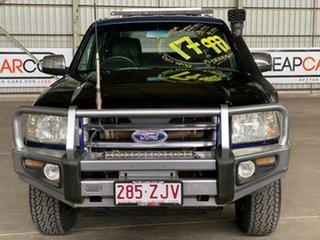 2007 Ford Ranger PJ XLT Crew Cab Blue 5 Speed Automatic Utility