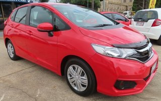 2018 Honda Jazz VTi Red Automatic Hatchback
