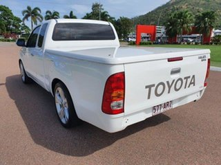 2008 Toyota Hilux GGN15R MY08 SR Xtra Cab 4x2 White 5 Speed Automatic Utility