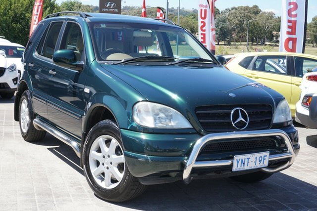 Used Mercedes-Benz M-Class W163 MY2000 ML430 Luxury Phillip, 1999 Mercedes-Benz M-Class W163 MY2000 ML430 Luxury Green 5 Speed Sports Automatic Wagon
