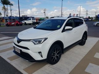 2018 Toyota RAV4 ASA44R GXL AWD Glacier White 6 Speed Sports Automatic Wagon