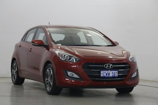 2015 Hyundai i30 GD3 Series II MY16 Active X Fiery Red 6 Speed Manual Hatchback