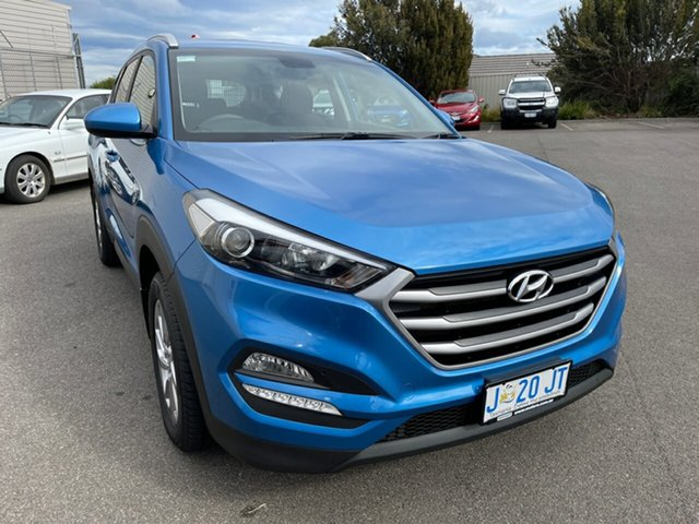 Used Hyundai Tucson TLe MY17 Active AWD Devonport, 2017 Hyundai Tucson TLe MY17 Active AWD Ara Blue 6 Speed Sports Automatic Wagon