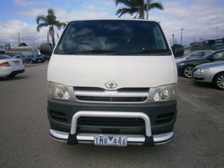 2005 Toyota HiAce KDH200R LWB White 5 Speed Manual Van.