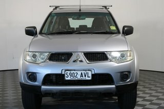 2013 Mitsubishi Challenger PB (KG) MY13 Silver 5 Speed Manual Wagon
