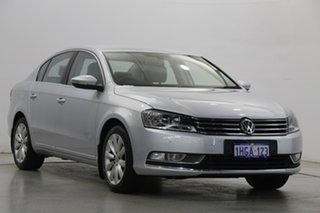 2012 Volkswagen Passat Type 3C MY12.5 118TSI DSG Silver 7 Speed Sports Automatic Dual Clutch Sedan