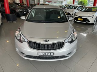 2014 Kia Cerato YD MY14 S Silver 6 Speed Sports Automatic Hatchback.