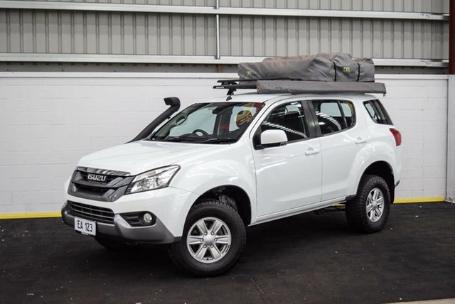Used Isuzu MU-X MY15 LS-U Rev-Tronic Canning Vale, 2016 Isuzu MU-X MY15 LS-U Rev-Tronic White 5 Speed Sports Automatic Wagon