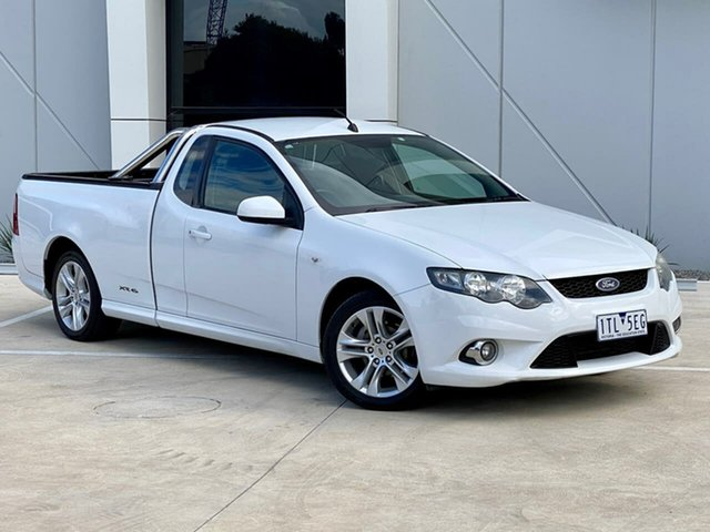 Used Ford Falcon FG XR6 Ute Super Cab Templestowe, 2010 Ford Falcon FG XR6 Ute Super Cab White 4 Speed Sports Automatic Utility