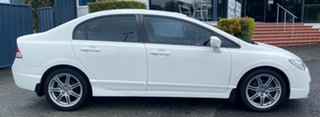 2008 Honda Civic 8th Gen MY08 Sport White 5 Speed Automatic Sedan.