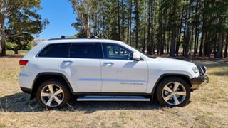 2013 Jeep Grand Cherokee WK MY2014 Limited Bright White 8 Speed Sports Automatic Wagon