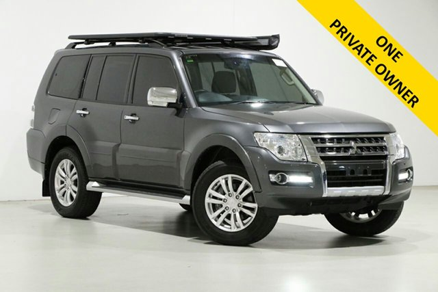 Used Mitsubishi Pajero NX MY19 GLS LWB (4x4) 7 Seat Bentley, 2018 Mitsubishi Pajero NX MY19 GLS LWB (4x4) 7 Seat Grey 5 Speed Auto Sports Mode Wagon