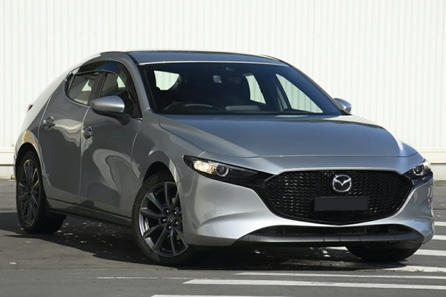 New Mazda 3 BP2H7A G20 SKYACTIV-Drive Evolve Glendale, 2020 Mazda 3 BP2H7A G20 SKYACTIV-Drive Evolve Sonic Silver 6 Speed Sports Automatic Hatchback
