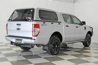 2017 Ford Ranger PX MkII MY17 Update XL 2.2 Hi-Rider (4x2) Silver 6 Speed Automatic Crew Cab Pickup