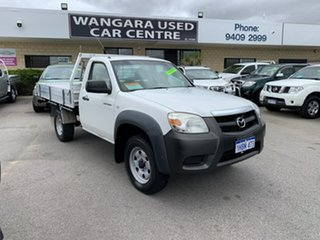 2009 Mazda BT-50 08 Upgrade B3000 Freestyle DX+ (4x4) White 5 Speed Manual Cab Chassis.