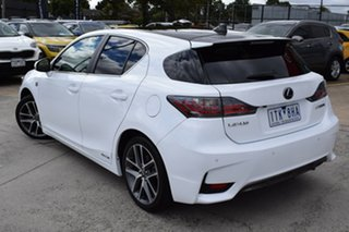 2016 Lexus CT ZWA10R MY16 CT200h F Sport White 1 Speed Constant Variable Hatchback Hybrid