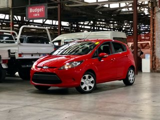 2009 Ford Fiesta WS CL Red 5 Speed Manual Hatchback.