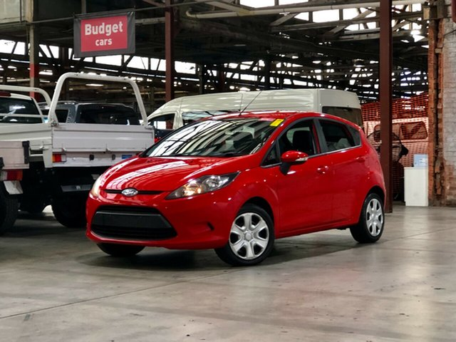 Used Ford Fiesta WS CL Mile End South, 2009 Ford Fiesta WS CL Red 5 Speed Manual Hatchback