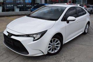 2020 Toyota Corolla Mzea12R Ascent Sport i-MT White 6 Speed Manual Sedan.