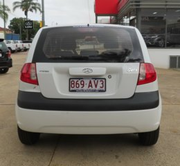 2007 Hyundai Getz White 5 Speed Manual Hatchback