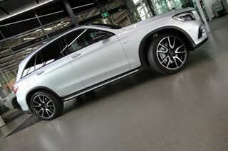 2017 Mercedes-Benz GLC-Class X253 808MY GLC43 AMG 9G-Tronic 4MATIC Silver 9 Speed Sports Automatic.