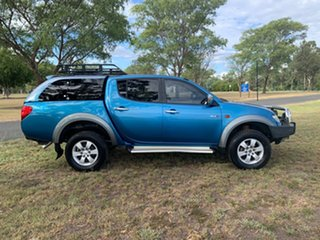 2009 Mitsubishi Triton ML MY09 GLX-R Double Cab 5 Speed Manual Utility.