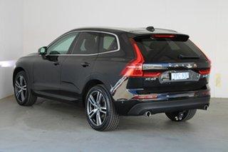 2018 Volvo XC60 UZ MY18 D4 AWD Momentum Onyx Black 8 Speed Sports Automatic Wagon.