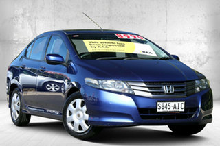 2010 Honda City GM MY10 VTi Deep Lapis Blue 5 Speed Manual Sedan.